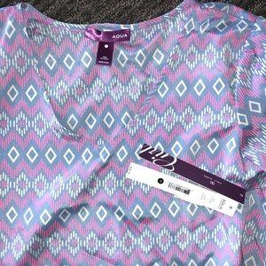 Aqua Shirts & Tops - Bloomingdales Aqua Top - Youth M NWT